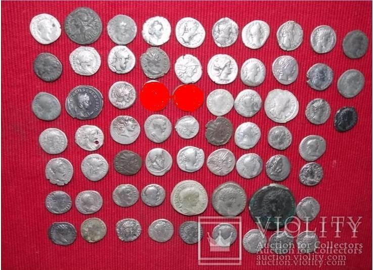 Коллекция Римских монет 63 шт