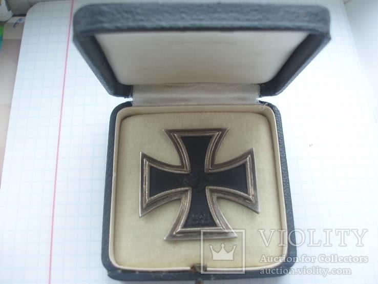 Железный крест 1 класса с коробкой.