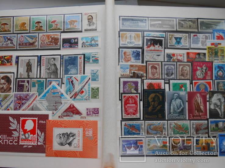 2 альбома марок СССР 1648шт.