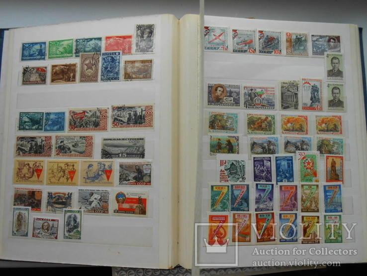 2 альбома марок СССР 1316шт.