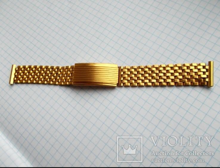 Позолоченный браслет Аu ( советская эпоха)