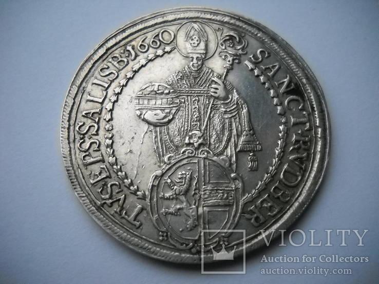 Талер  1660  Зальцбург