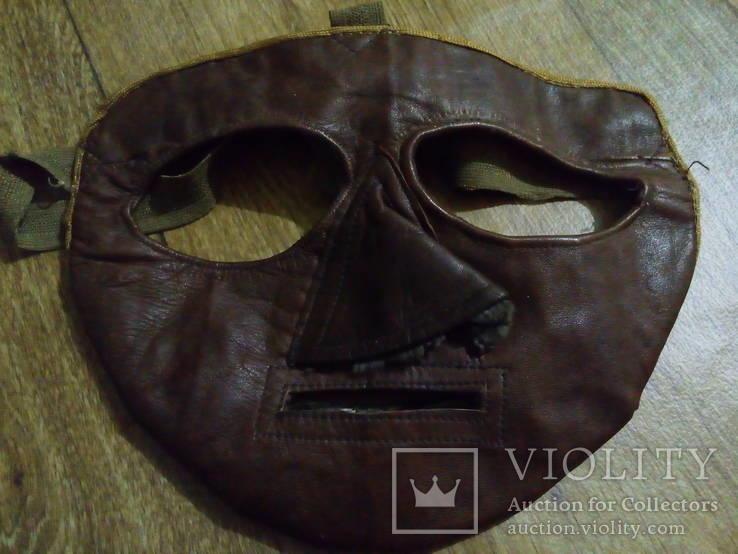 Зимняя маска пилота самолетов с открытой кабиной