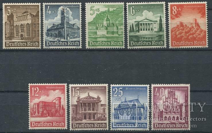 1940 Рейх  полная серия архитектура