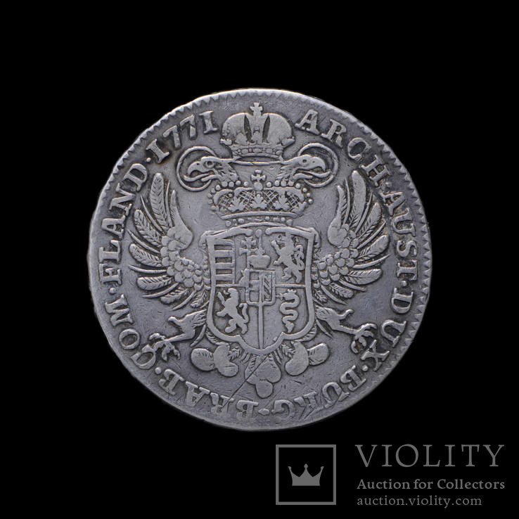 Талер 1771, Австрийские Нидерланды