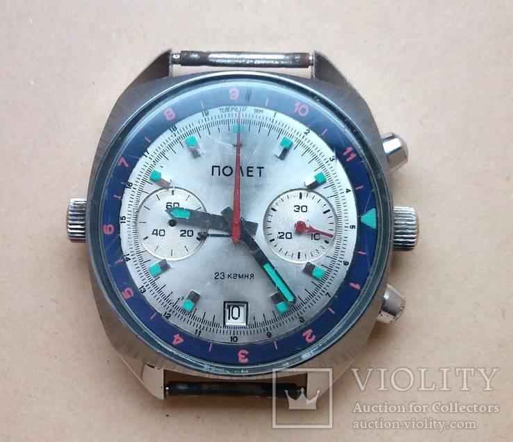 Часы Полет (Хронограф)