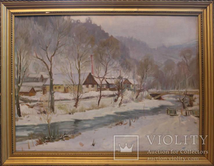 Йосип Гарані. Село на Закарпатті