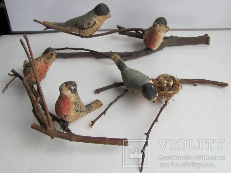 Птицы (снегери) .