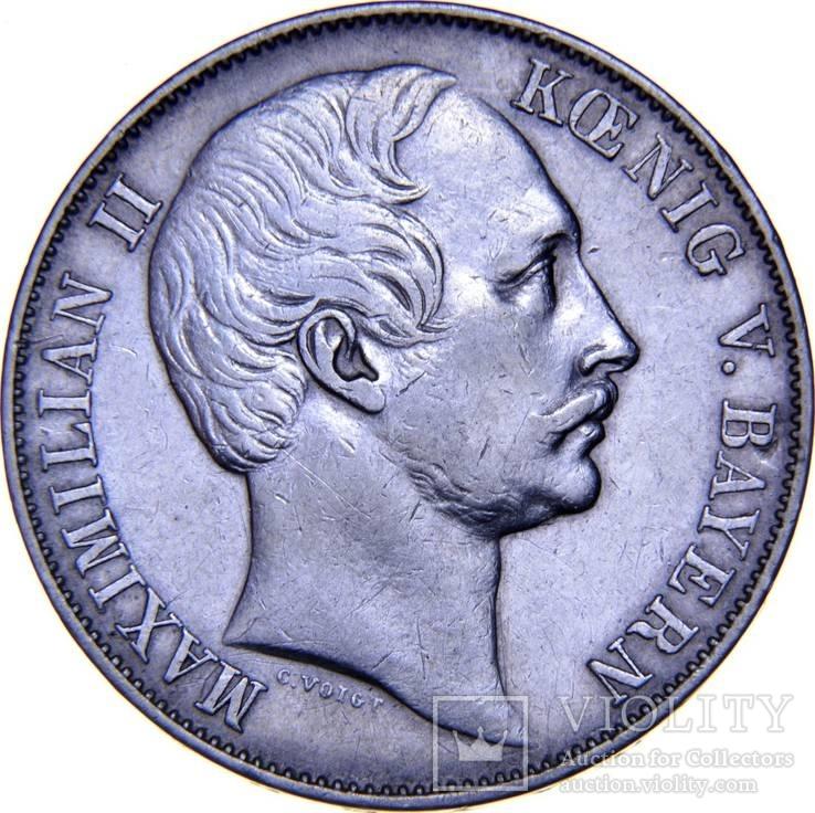 Бавария 1 талер 1858