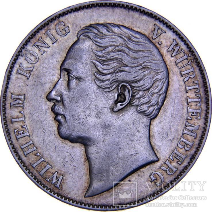 Вюртемберг 1 талер 1863