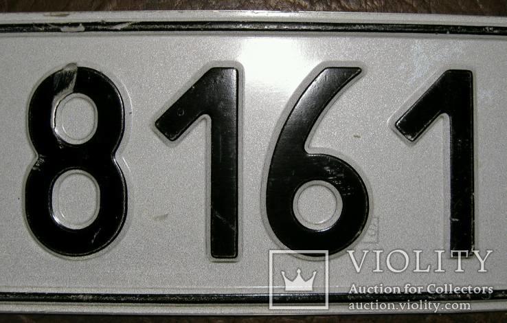 Два номерных знака Украина., фото №4