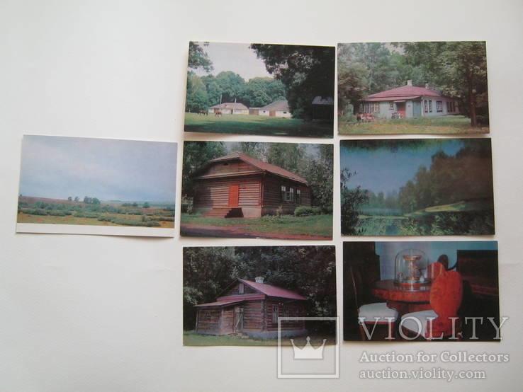 Набор открыток.Тургеневские места.1968г.10шт., фото №4