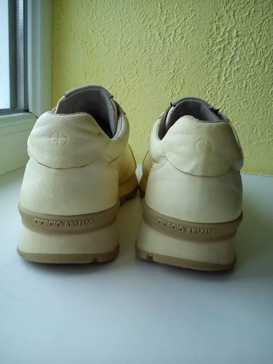 Кросовки Giorgio Armani из Натуральной Кожи (Розмір-35), фото №5