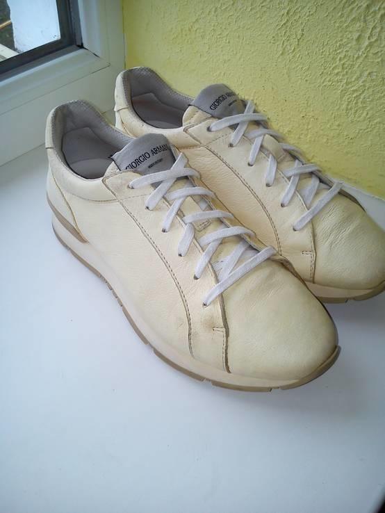 Кросовки Giorgio Armani из Натуральной Кожи (Розмір-35), фото №7