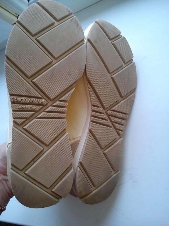 Кросовки Giorgio Armani из Натуральной Кожи (Розмір-35), фото №9