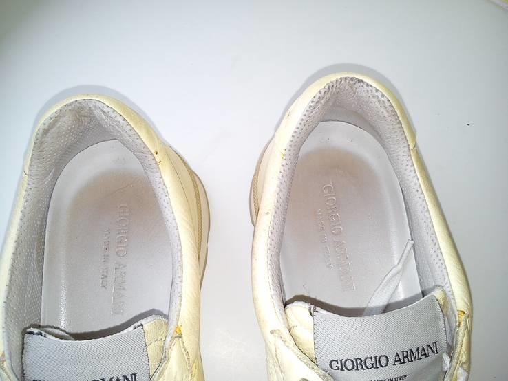 Кросовки Giorgio Armani из Натуральной Кожи (Розмір-35), фото №13