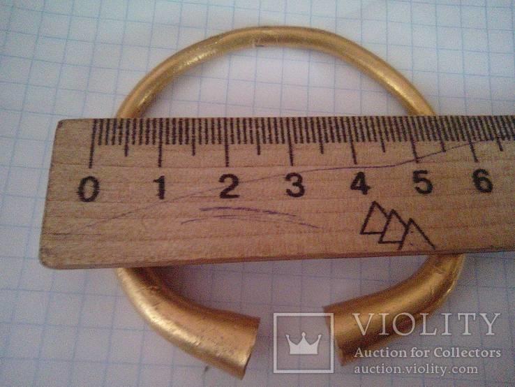 Браслет Золото 61 Грам Размер 6 см До 900 года