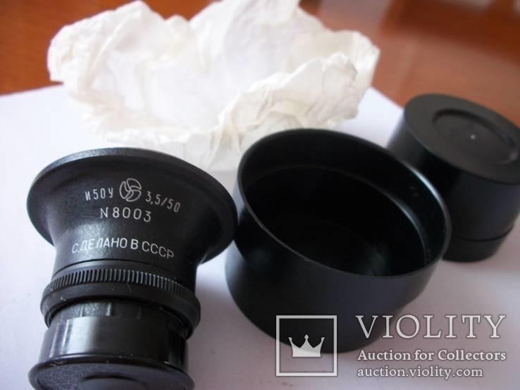 Семь объективов [нов] для фотоувеличителей [футляры-5-штук и крышки], фото №2
