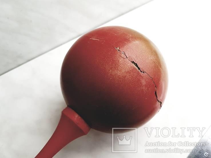 Погремушка из древесины, СССР., фото №6