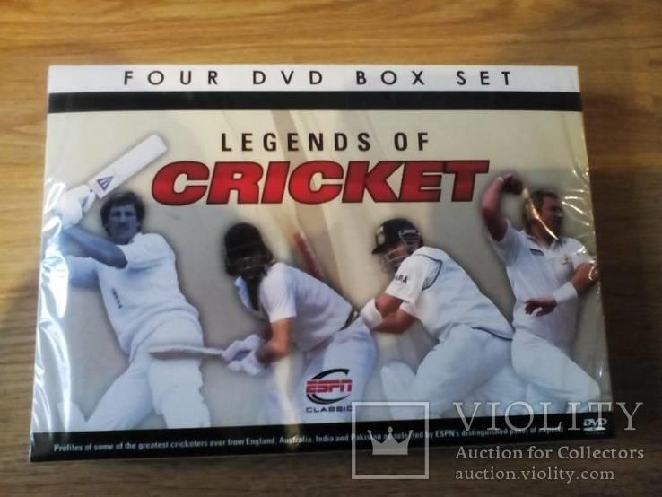 LEGENDS OF CRICKET - 4 DVD новый запечатанный отличный подарок на НГ