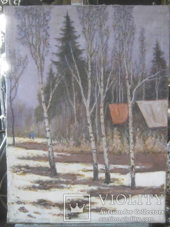Пейзаж,х.м., фото №2