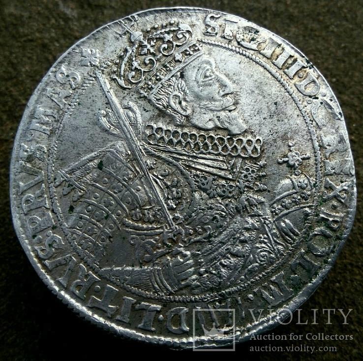 Коронный талер Zygmunt III Waza 1629