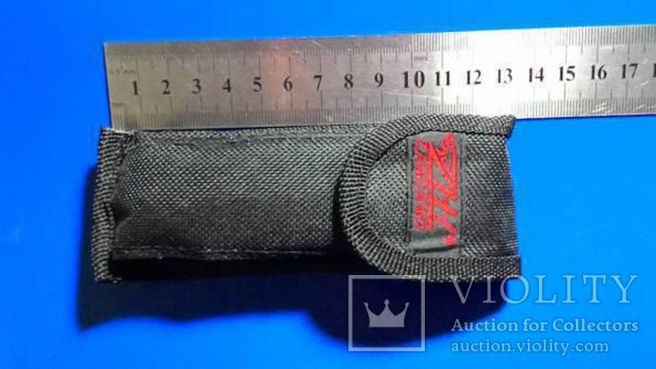 Нож раскладной с насадками, фото №3