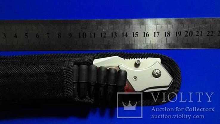 Нож раскладной с насадками, фото №5
