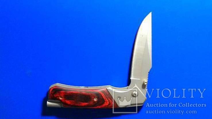 Нож раскладной с насадками, фото №8