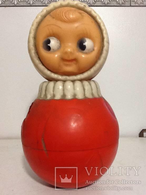Кукла неваляшка СССР 2, фото №2