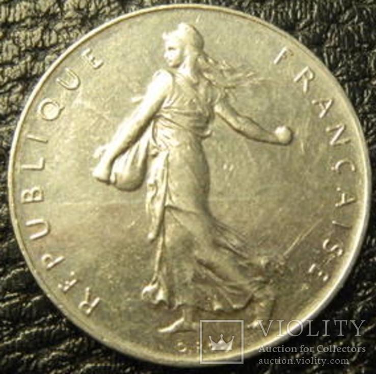 1 франк Франція 1978, фото №3