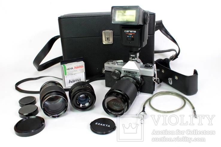 Зеркальный пленочный фотоаппарат Carena 1000 с аксессуарами. Япония. (0618)