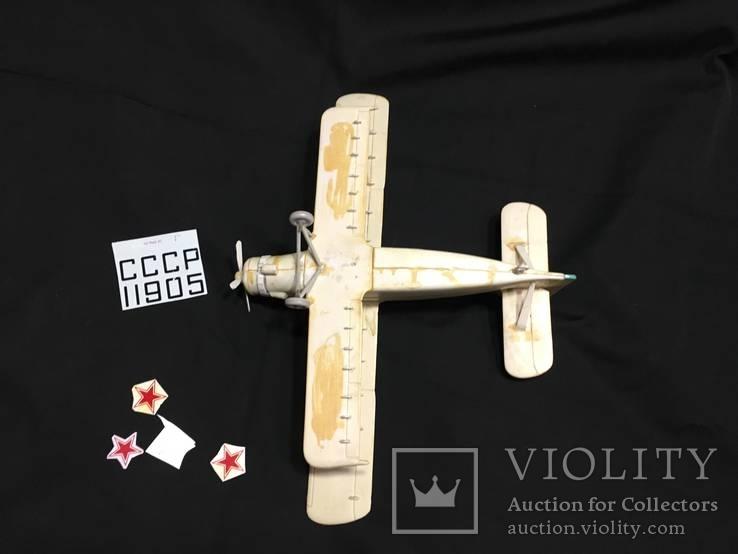 Модель самолета АН-2 под покраску, фото №4