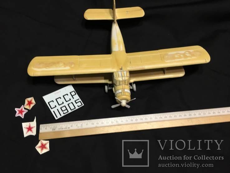 Модель самолета АН-2 под покраску, фото №9