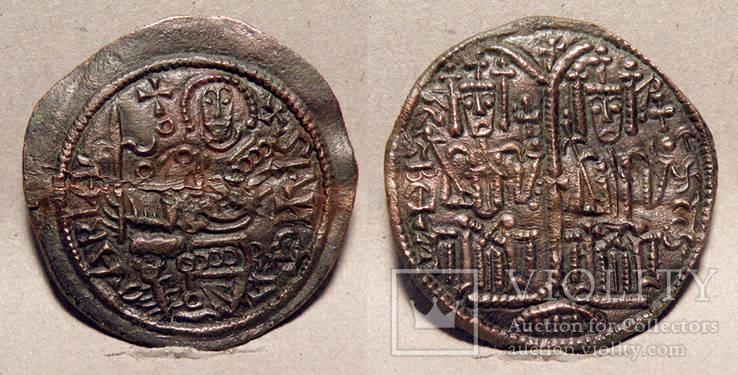 №1-Bela IІІ (Arp)-Dinar(Cu)-1172-1196