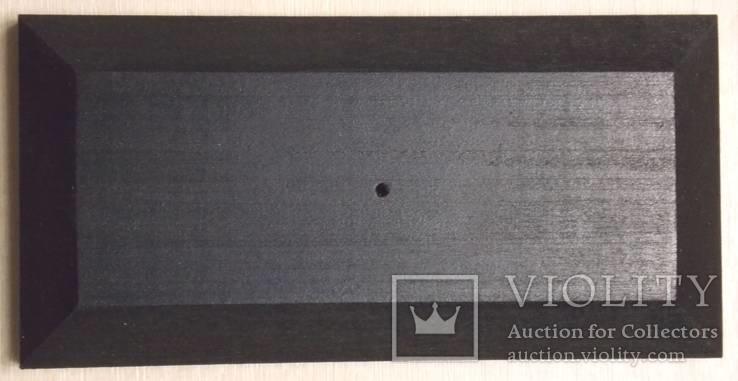 3 шт Подставка для моделей авто масштабом 1:43 Цвет Черный. Материал дерево, фото №7