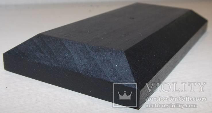 3 шт Подставка для моделей авто масштабом 1:43 Цвет Черный. Материал дерево, фото №8