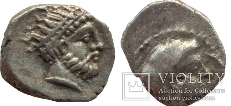 Обол Cilicia Nagidos 400-380 гг до н.э. (70_8)