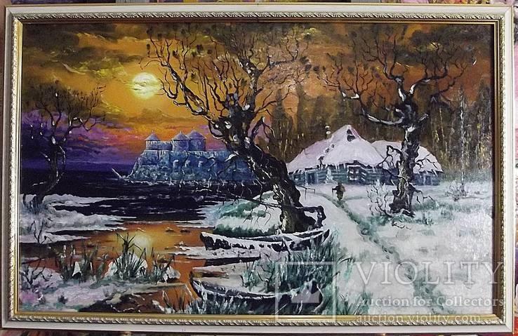 Зимний пейзаж с Аккерманской крепостью