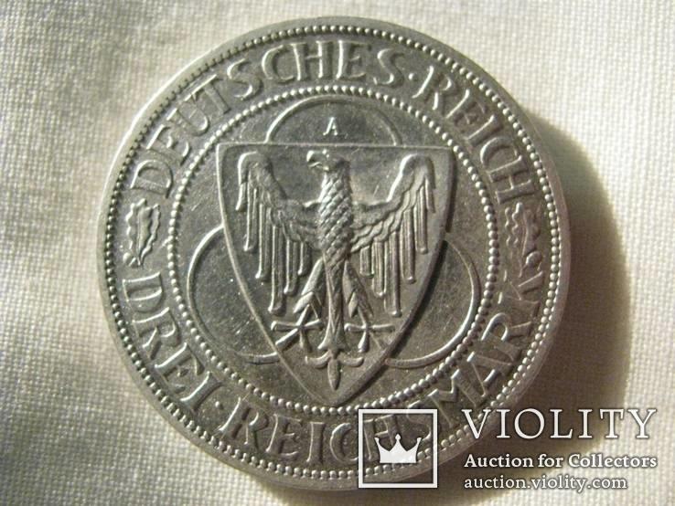 3 Марки 1930 Орел, Германия .