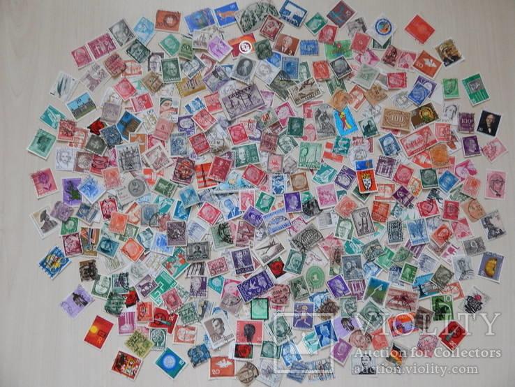 Лот марок 400 шт.