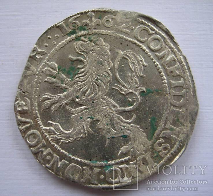 Талер левковый 1662 г.