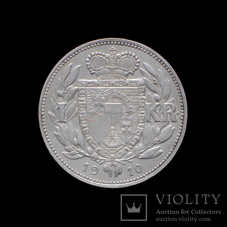 1 Крона 1910 Иоганн II, Лихтенштейн