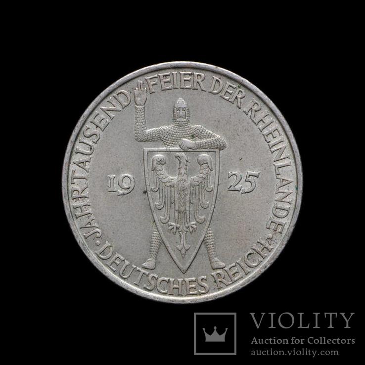 5 Марок 1925 Рыцарь, Германия