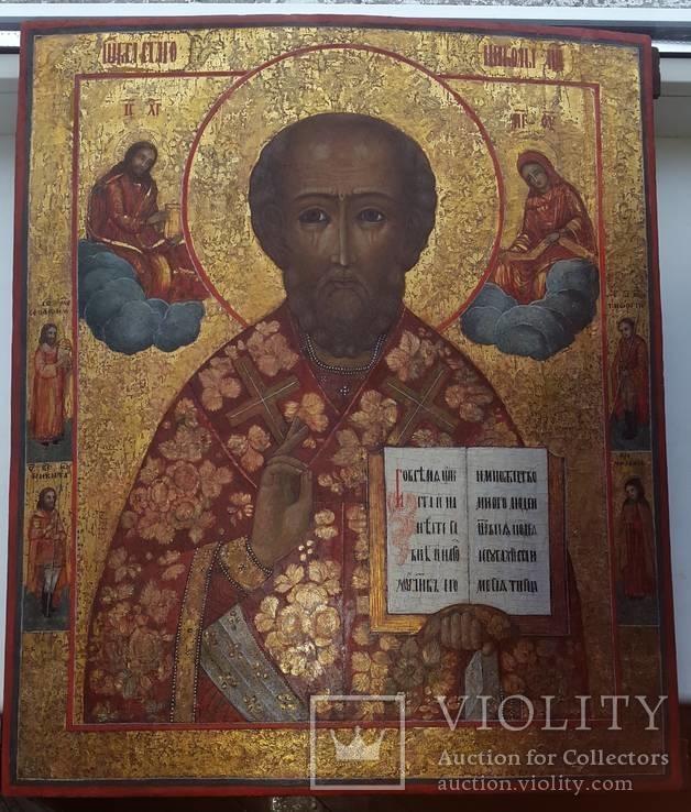 Святий Миколай 45х38