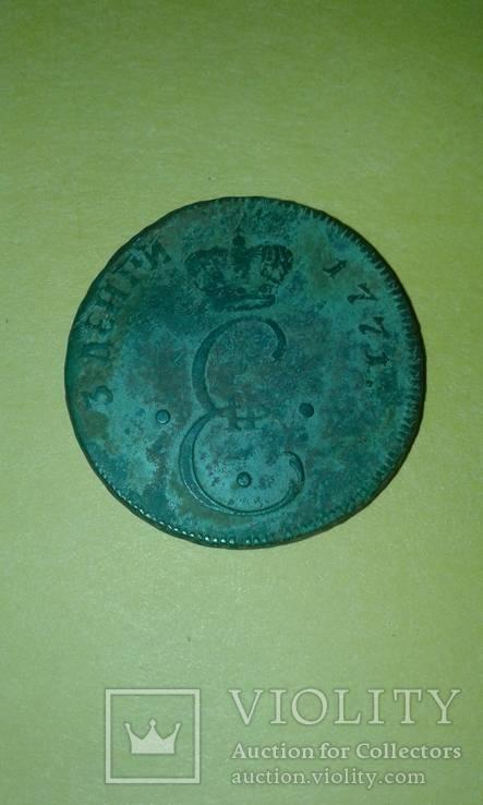 3 деньги 1771 год