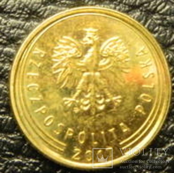 1 грош Польща 2017, фото №2