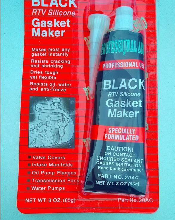 Автомобильный герметик Черный (12 штук)