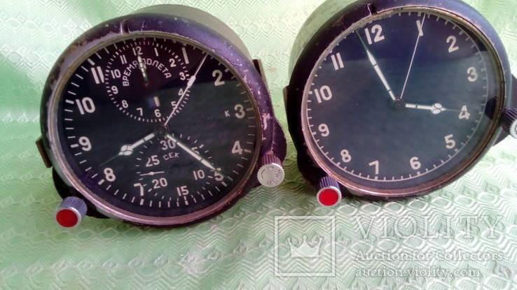 Авиационный хронограф (АЧС-1М) и часы (124 ЧС)
