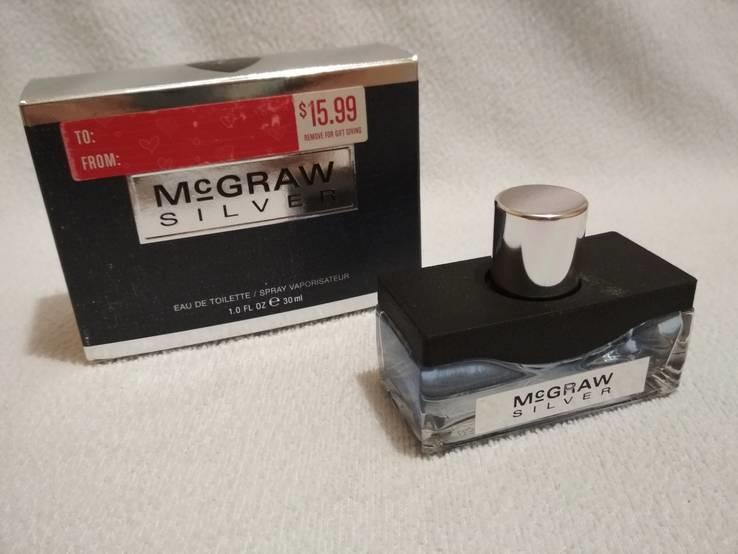 Туалетная вода спрей McGraw Silver for Men 30ml